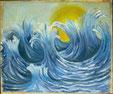 La réaction de la mer devant les histoires