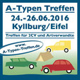 A-Typen Treffen 2016 Kyllburg/Eifel Düssel Ducks