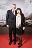 Claudia und Peter Iselin am 50 Jahre Toyota Schweiz Ball