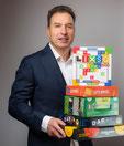 Vincent Sélenne, passionné de jeux depuis 1966
