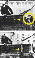 Stalin elimina a Trotsky junto a Lenin