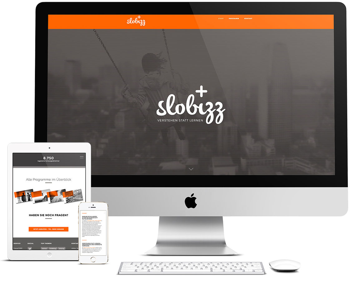slobizz - verstehen statt lernen. Corporate Design, Webdesign, Responsive Design, SEO und Google AdWords-Kampagne - Peter Scheerer Webdesign & SEO Expert.
