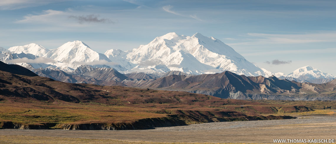 Denali Nationalpark in Alaska