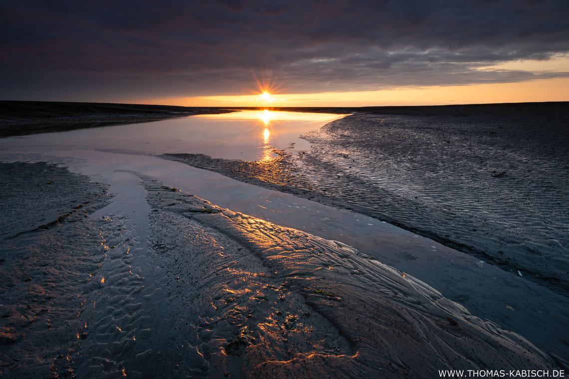 Landschaftsfotografie im Wattenmeer bei Cuxhaven