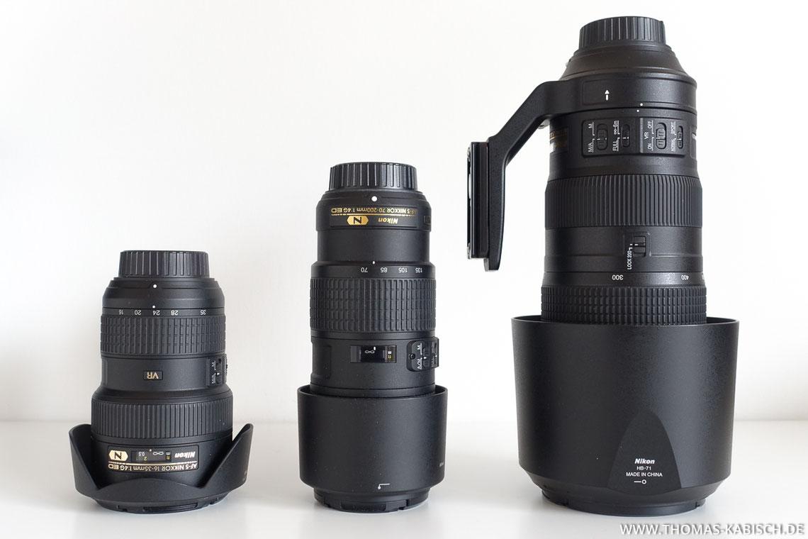 Naturfotografie Ausrüstung Objektive