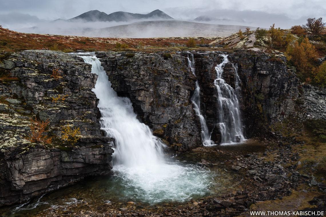 Storulfossen, Rondane, Norwegen