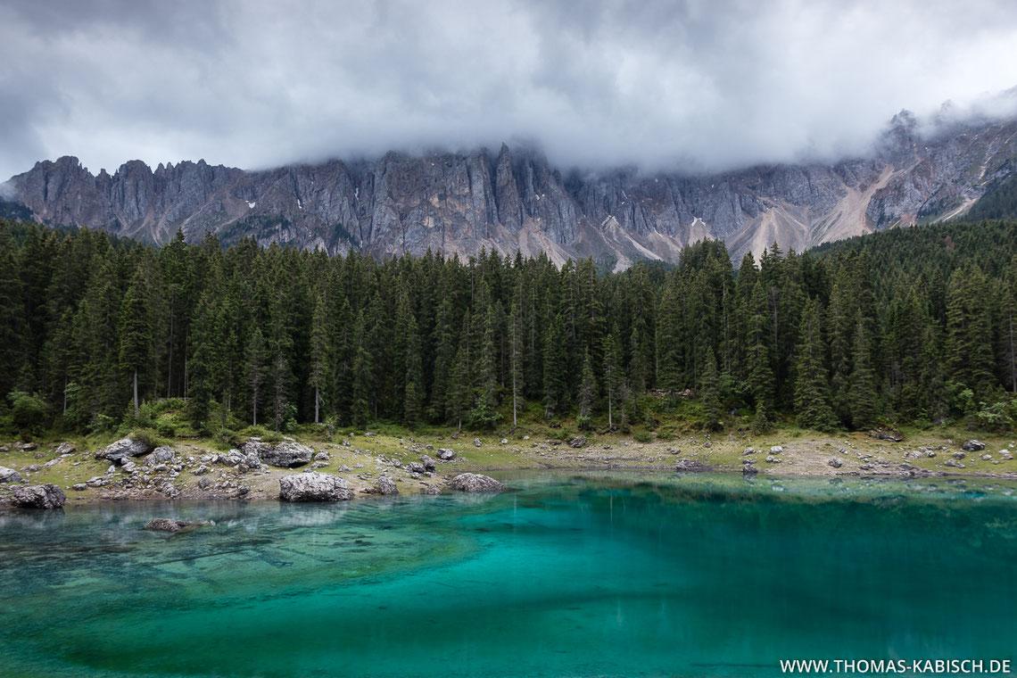 Karersee, Latemargruppe, Dolomiten