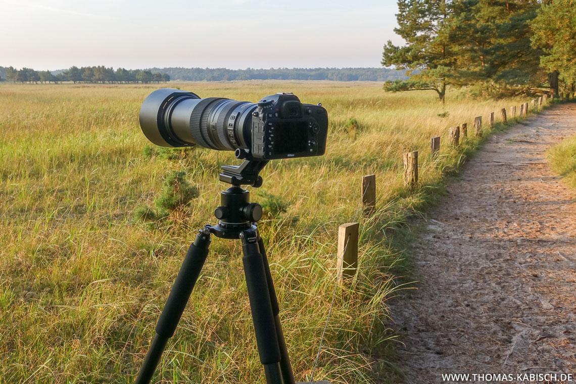Naturfotografie Ausrüstung Kamera Objektiv