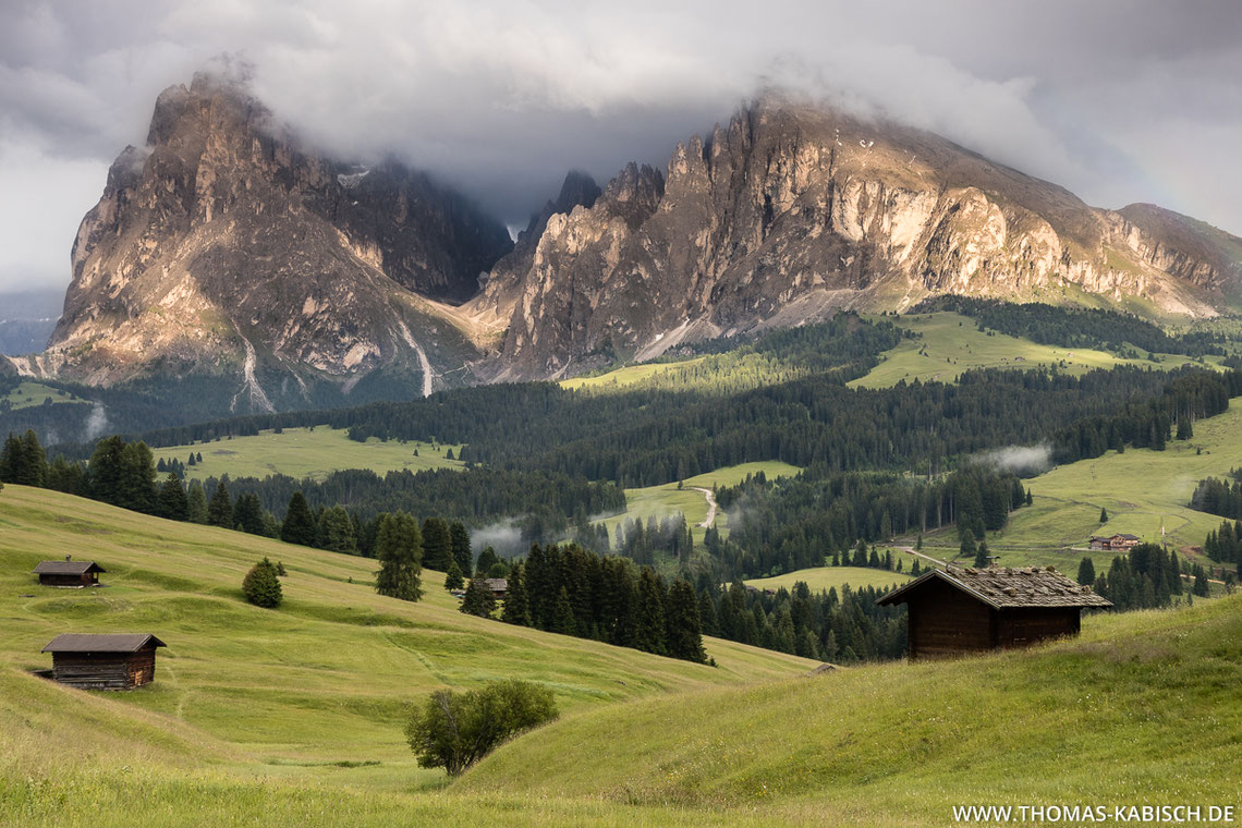 Seiser Alm, Langkofel, Dolomiten