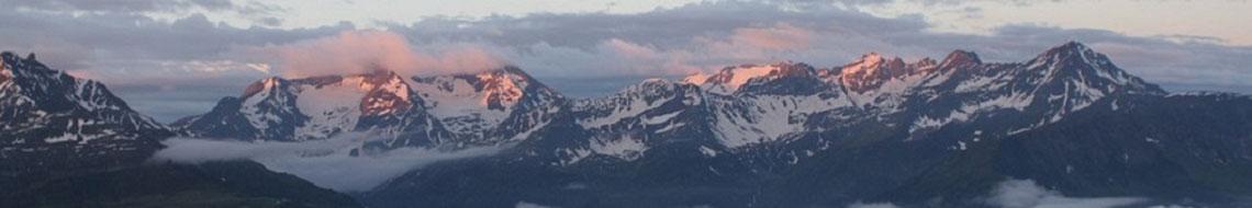 Blick vom Val Punteglias nach Südosten