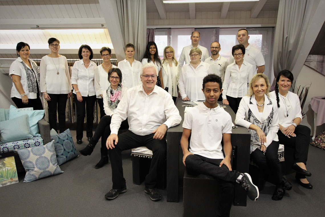 Team / Robert Ruoss & Co AG / Bettenfachgeschäft / Vorhangfachgeschäft / Heimtextilien
