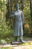 Stalino paminklas Grūto parke 2011m. (foto.G.Burba) / Monument to Stalin, Grūto park, 2011 (photo.G.Burba)