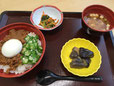 昼食(鶏そぼろ丼)