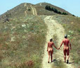 The pleasure of walking naked in natre is unsurpassed