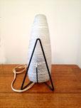 Paire de lampe à poser forme obus 1960