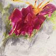 Blütenallerlei 3, Acryl auf Leinwand, JULIA! Neulinger-Kahl