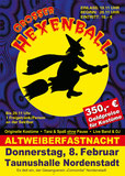 Hexenball ist eine Faschings- Tanzveranstaltung