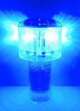 太陽電池式LED灯浮標 アンゼンマン 青