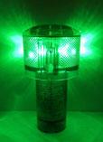 太陽電池式LED灯浮標 アンゼンマン 緑