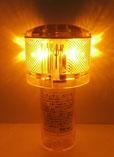 太陽電池式LED灯浮標 アンゼンマン 黄