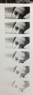 Tira fotográfica de prueba de Sally Mann