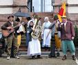 """""""Buremusik"""" mit Schwarzwald-Marie und Badener Lied."""
