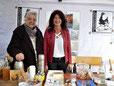 Besuch von Bürgermeisterin Sonja Schuchter bei uns am Stand.