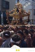二郎さん:富賀岡八幡宮仲間祭り