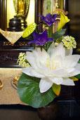 アートフラワー,仏花,造花,シルクフラワー