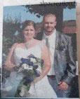 Broderie diamant personnalisée mariage