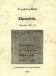 Karin Schröder/™Gigabuch Forschung/Transkriptionsheft 06/1917-18