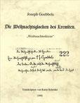 Karin Schröder/™Gigabuch Forschung/Transkriptionsheft 12/1918