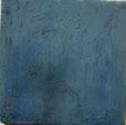 Plättli patiniert in Türkis und dunkleren Blau