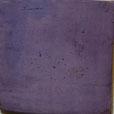 Patiniertes Plättli in Lila Farbe