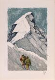 Nr. 3143 Aufstieg über Rottalsattel, Jungfrau