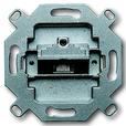 Компьютерная розетка RJ45, кат. 5e, экранированная 1 разъем, 8(8) полюсов ABB Basic 55
