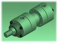 Kompaut, cilindro oleodinamico ISO 6020/1
