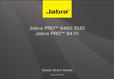 Titelbild Bedienungsanleitung-kurz: Jabra PRO 9465 Duo