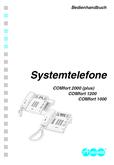Titelbild Bedienungs- und Konfigurationsanleitung: Auerswald COMfort 1000
