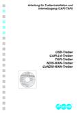 Titelbild Anleitung für Treiberinstallation und Internetzugang (CAPI/TAPI): Auerswald COMfort 2000