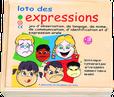 LOTO DES EXPRESSIONS +3ans, 1-4j