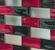 Glasbausteine Vollglasziegel Poesia Mattone Luxemburg Luxembourg Lëtzebuerg Glassteine Brique de verre  Glasziegel Glass Blocks läufer Mulot demi Briques farbe artiko bubble satin clear