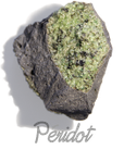Peridot,  pierre gemme, pierre roulée, pierre brute, galet