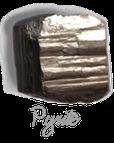 Pyrite,  pierre gemme, pierre roulée, pierre brute, galet