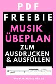 Musik Übeplan PDF