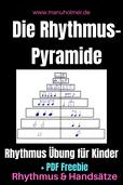 Rhythmus-Pyramide Kinder