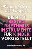 Beste Rhythmusinstrumente für Kinder