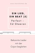 Bekannte Lieder mit der Cajon begleiten - Perfect