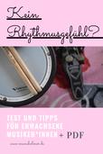 Kein Rhythmusgefühl: Test und Tipps für Erwachsene