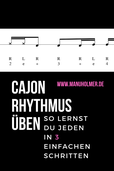 Cajon Rhythmus üben